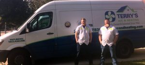 Rob and Kenny of Terry's A/C and Heating in Richmond, Texas