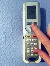 Ductless Carrier HVAC Mini-Split System Remote Control