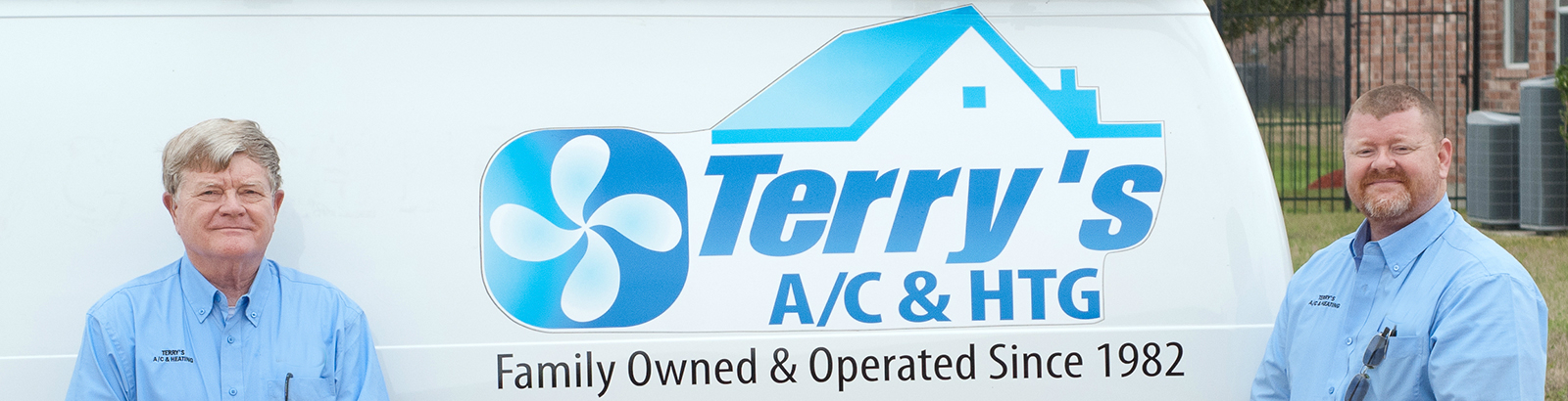 Terry's A/C and Heating history of the business