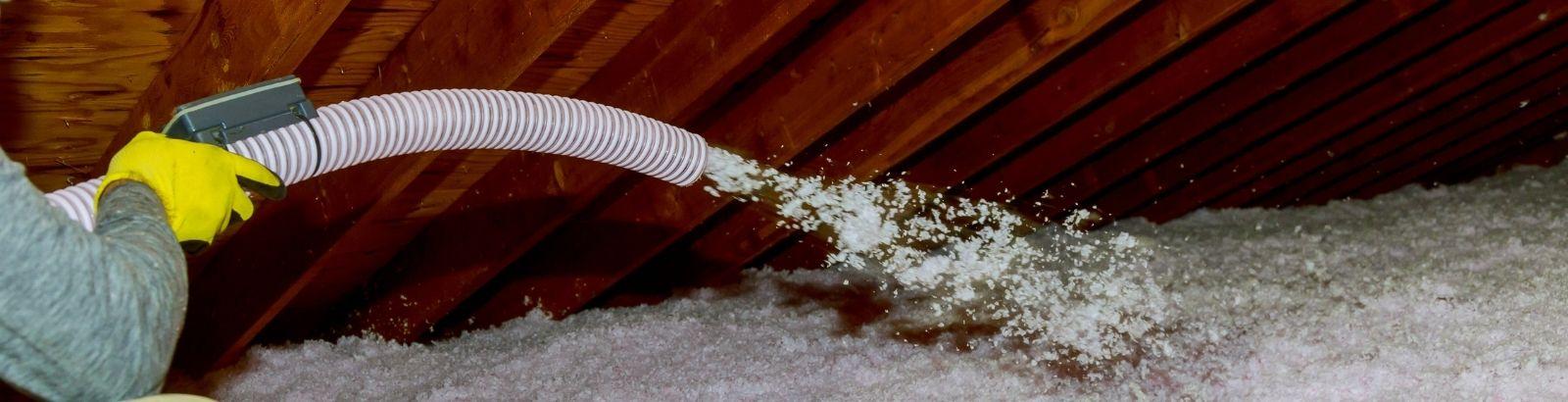 attic insulation blown-in insulation Richmond, Texas