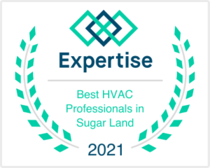 Best HVAC Professionals in Sugar Land by Expertise - Award for Terrys AC & Heating