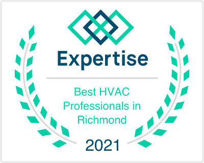 Best HVAC Professionals in Richmond, Texas award from Expertise to Terry's AC & Heating