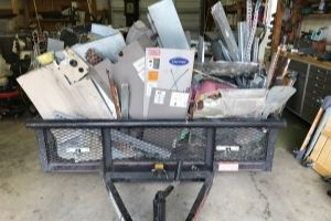 Terrys breaks down old HVAC units to recycle