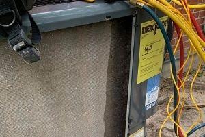 refrigerant leak requiring ac services and repair